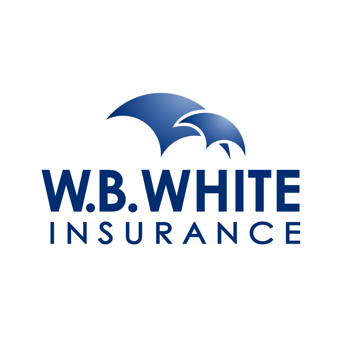 WB White Insurance Logo