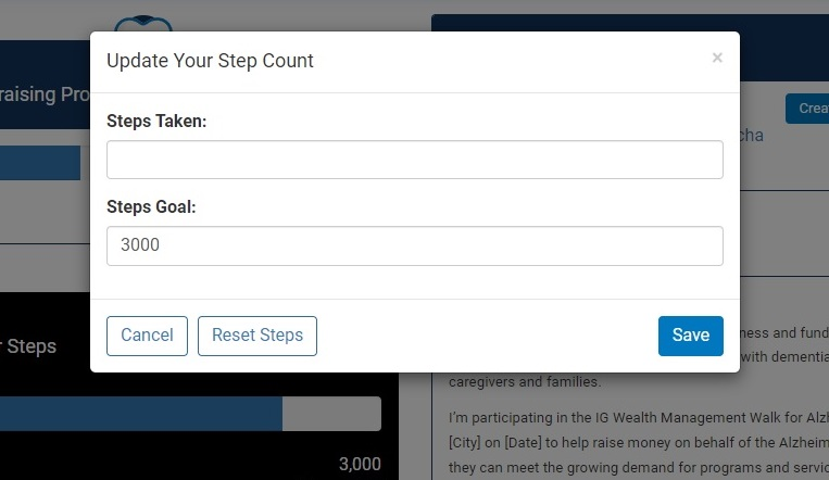 WFA - Step tracker instructions step 3.